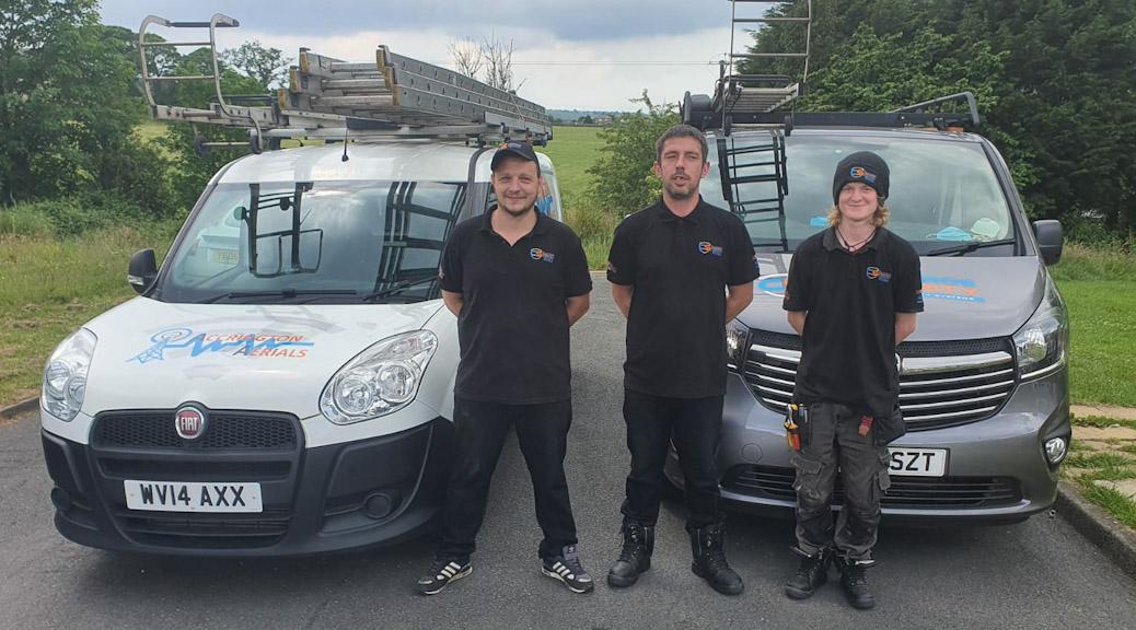 Meet The Accrington Aerials Team